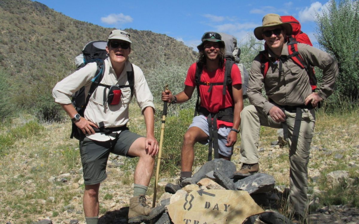 Naukluft trail Namibia hike