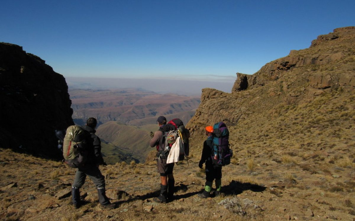 Hike the 3 highest peaks in South Africa