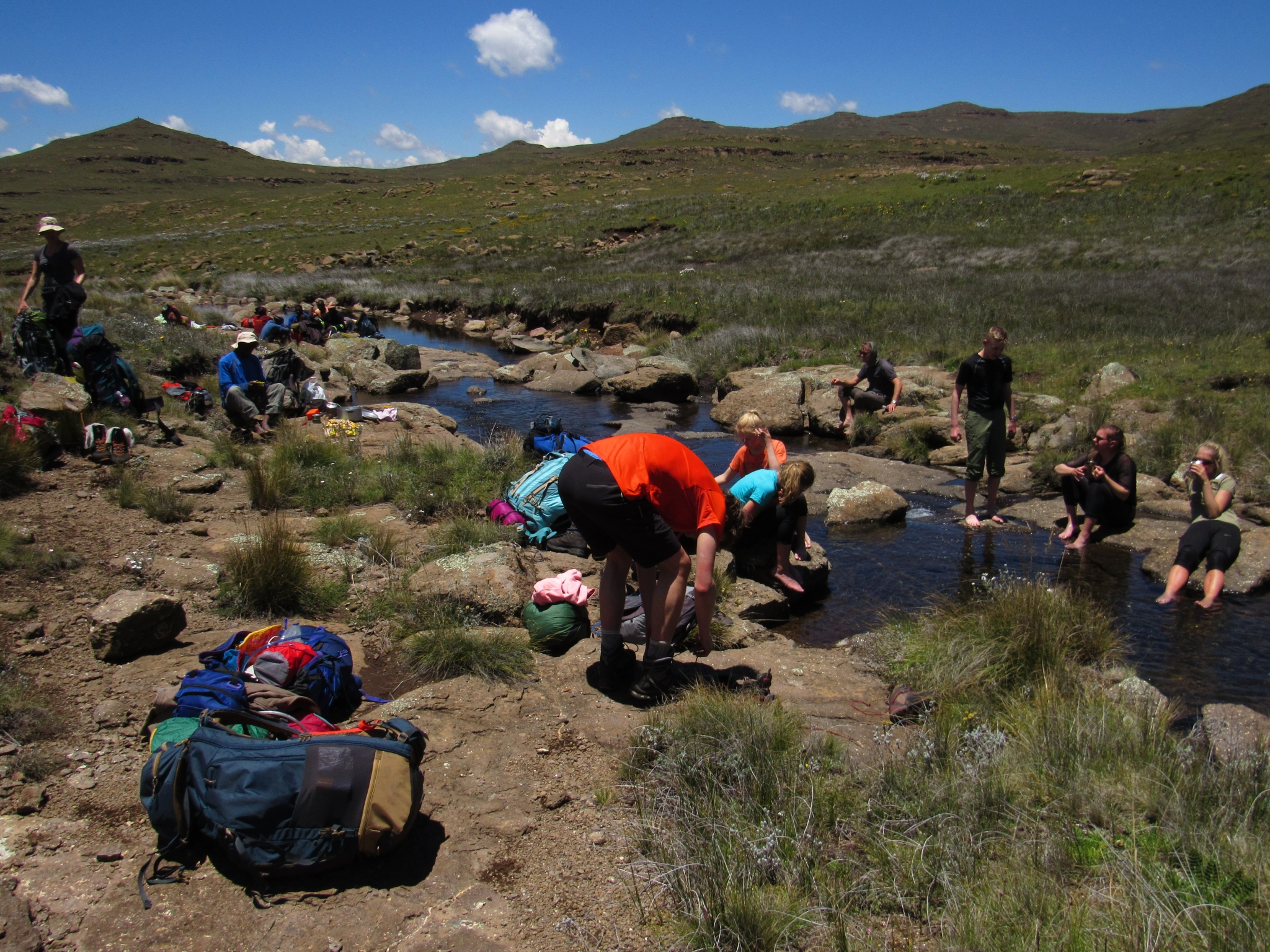 Northern Drakensberg traverse