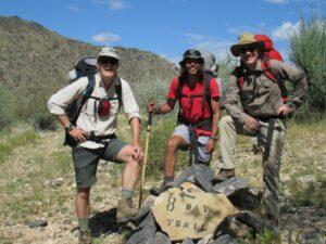 Naukluft trail Namibia hike