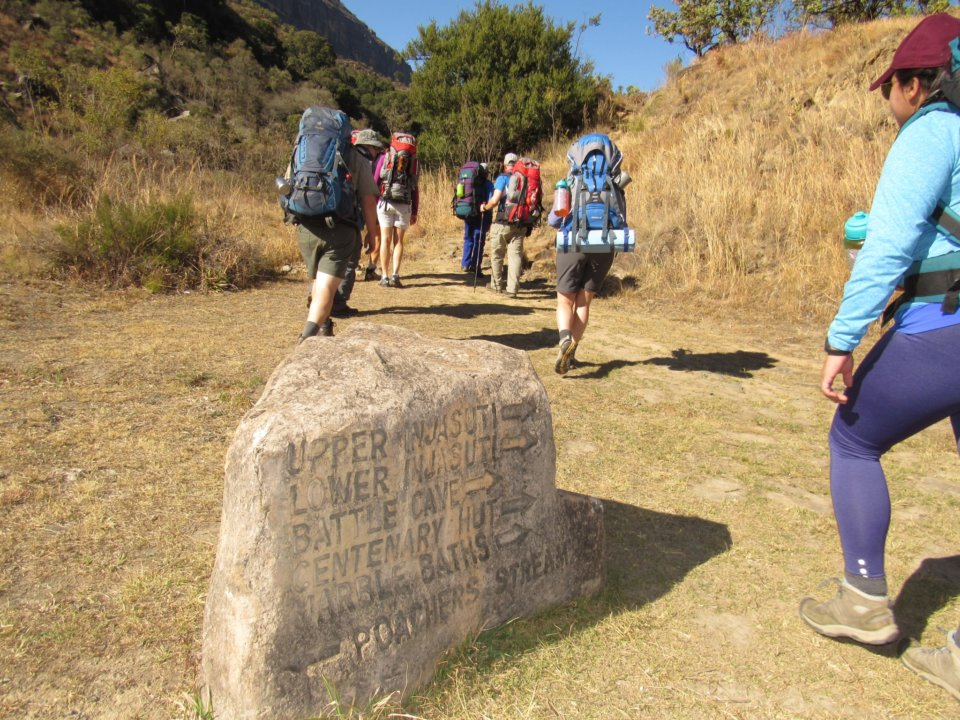 Popular hikes in the Drakensberg