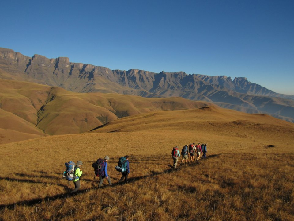 Mafadi the highest peak in South Africa