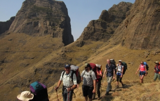 Guided Drakensberg hikes in South Africa