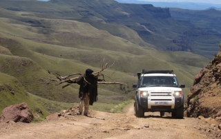 Overland 4x4 tour of Lesotho