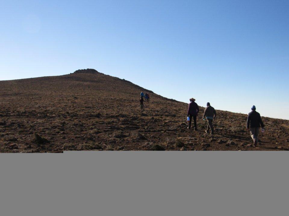 Thabana Ntlenyana highest peak in the Drakensberg