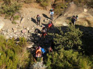 Pillar cave 2 day hike
