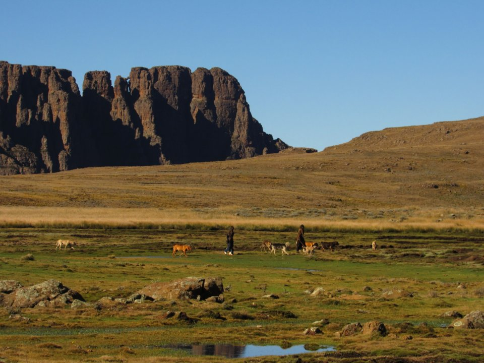 Drakensberg northern Traverse hike report