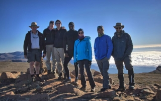 Mafadi is South Africa's highest peak