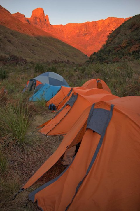 Mafadi is South Africa's highest peak
