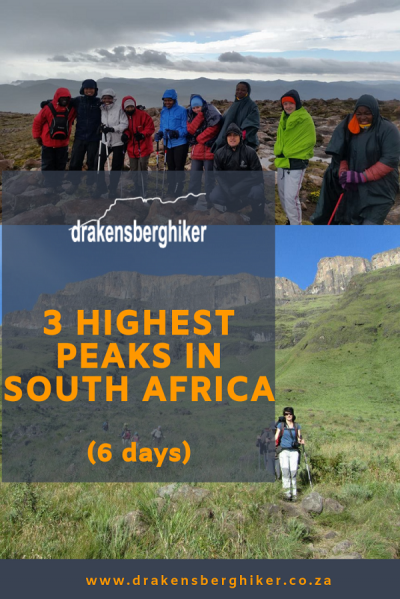 3 Highest Peaks in South Africa, 6 days