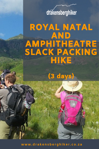 Royal Natal & Amphitheatre Slack Packing Hike, 3 Days