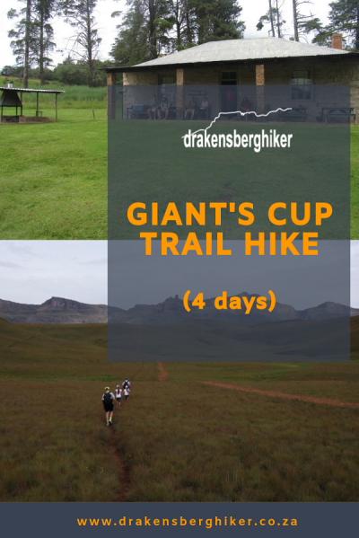 Drakensberg Giant's Cup Trail Hike (4 Days)