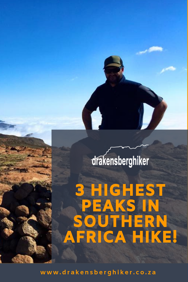 3 Highest Peaks in Southern Africa