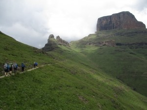 Sentinal to Cathedral peak