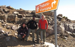 Sani Pass to Thabana Ntlenyana Lesotho's highest peak
