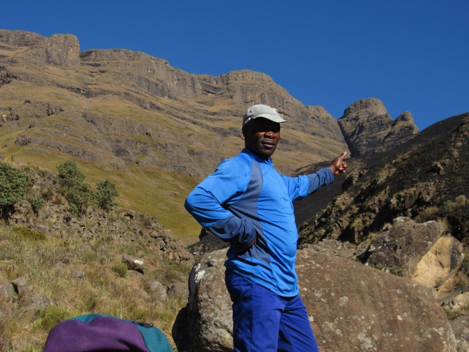 Mafadi highest peak in South Africa