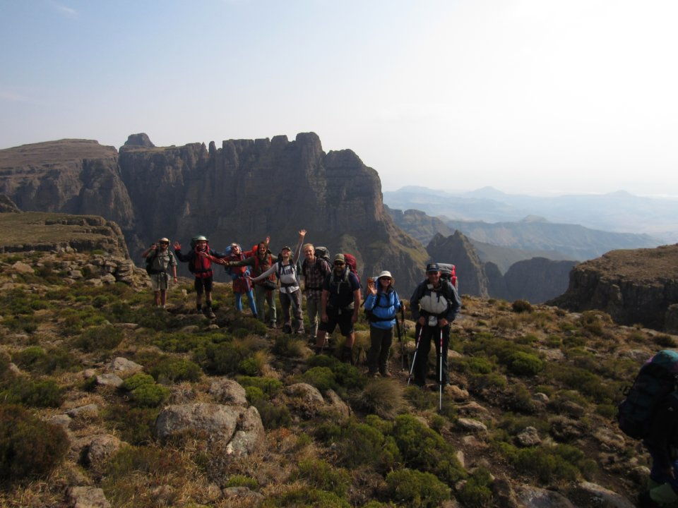 Sentinal to Cathedral peak Drakensberg Northern Traverse