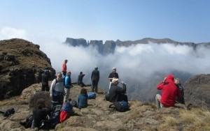 Sentinal to Cathedral peak Northern Drakensberg traverse hike