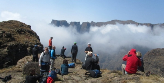 Sentinel to Cathedral peak Northern Drakensberg traverse