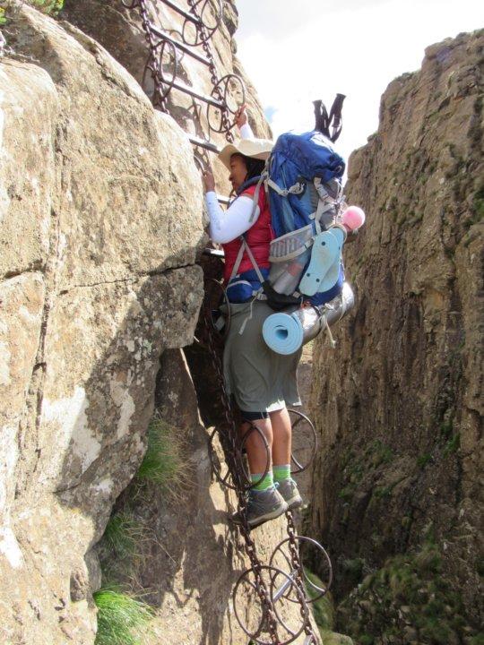 Drakensberg Ampitheatre hike