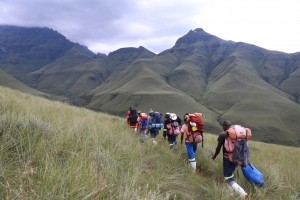 Guided Portered Hikes in the Drakensberg