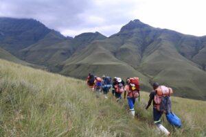 Guided Portered Hikes in the Drakensberg
