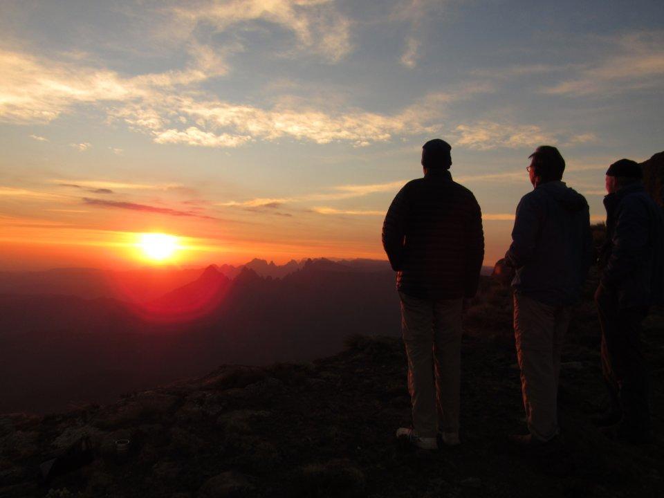 Sentinal to Cathedral peak Northern Drakensberg traverse