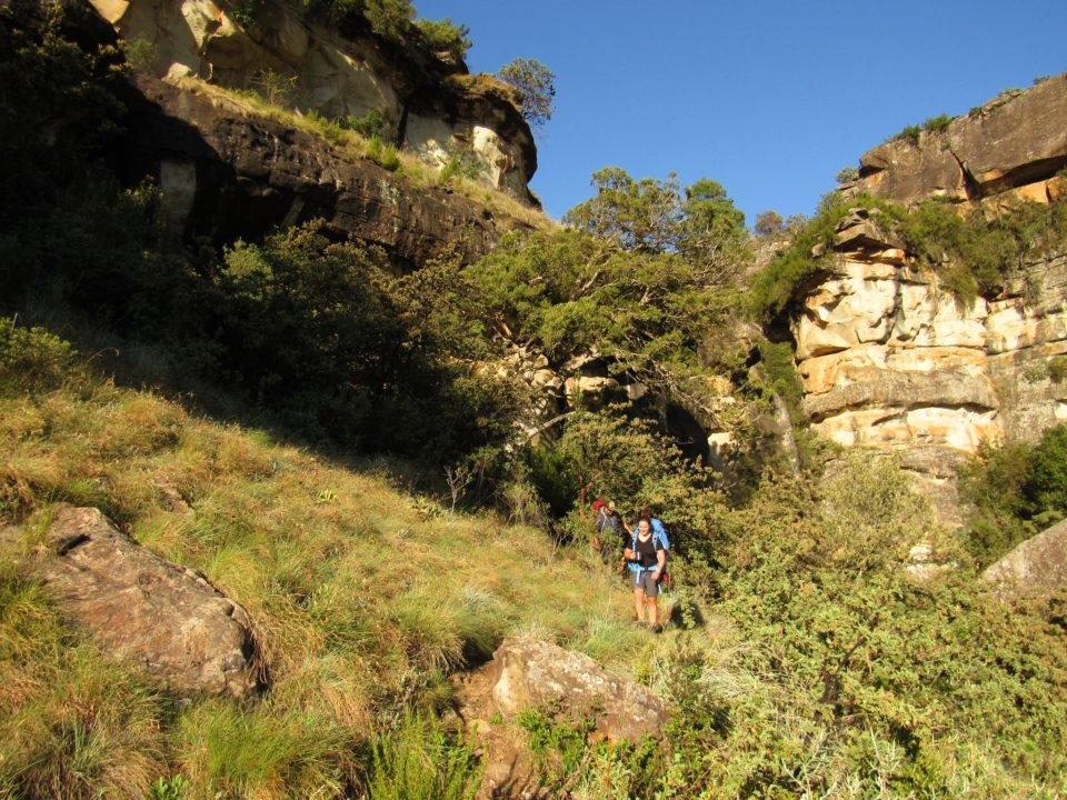 Gxalingenwa cave 2 day hike