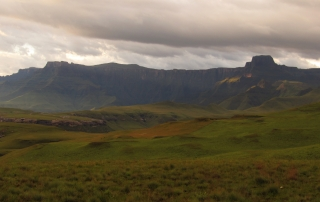 The Amphitheatre in the Northern Drakensberg