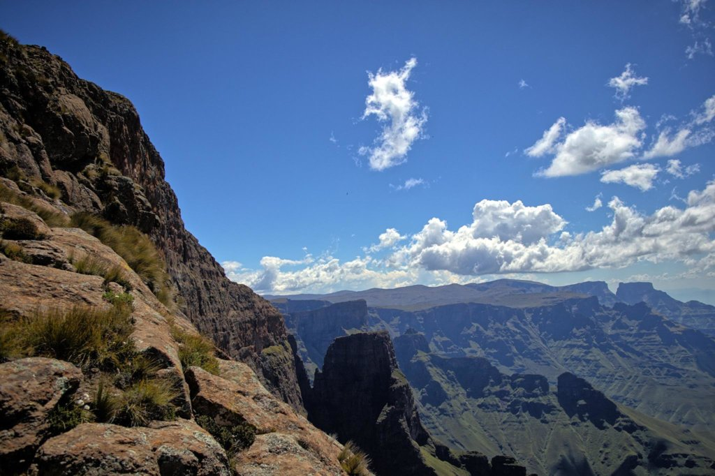 The 3 highest peaks in Southern Africa