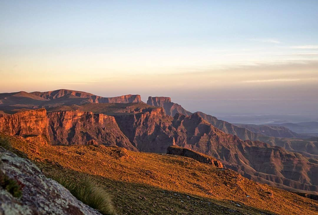 Some of the amazing views we see everyday - Hiking in the Drakensberg!
