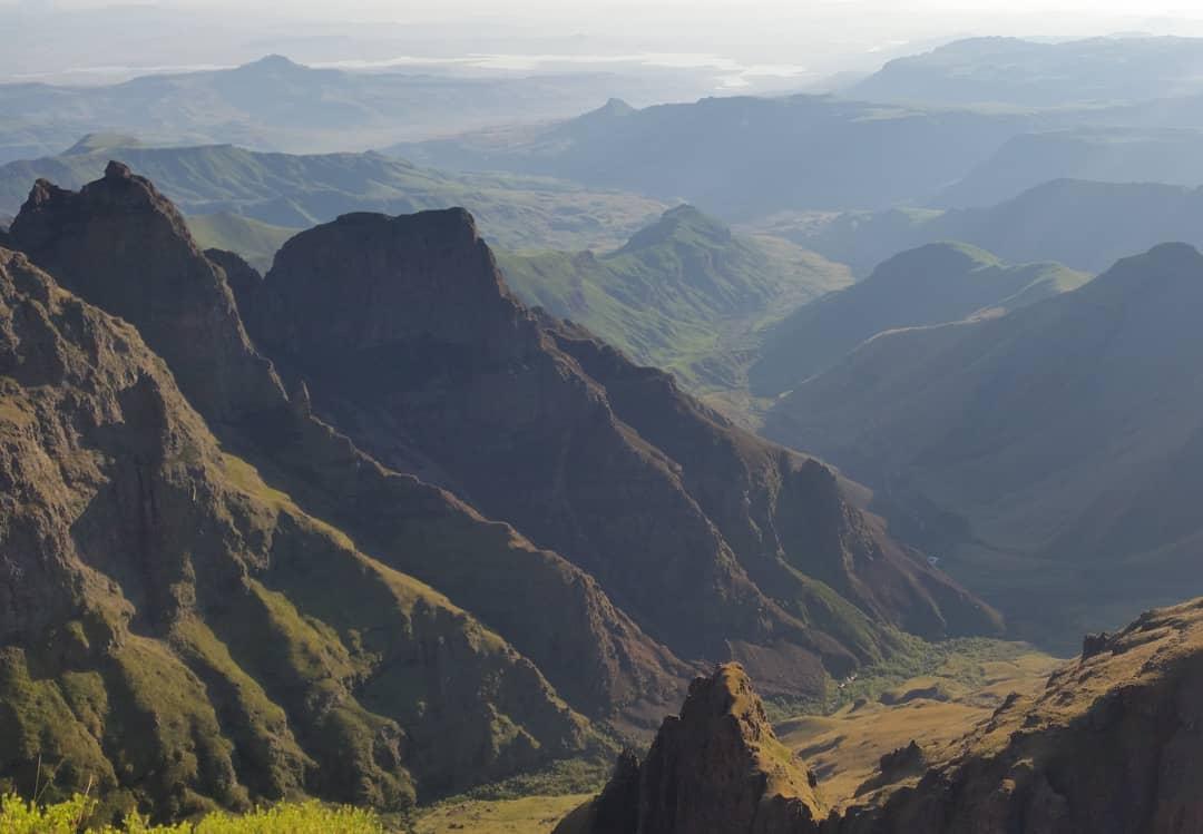 Drakensberg Foothills in the Mnweni Area
