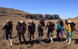 Why I hiked the Drakensberg grand traverse