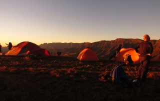 Drakensberg northern traverse hike report