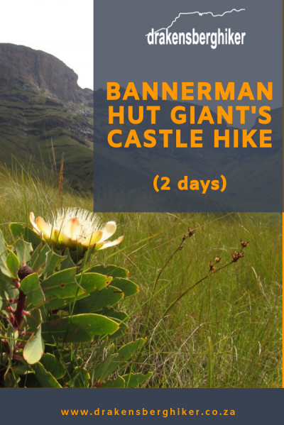 Bannerman Hut Giant's Castle 2 Day Hike