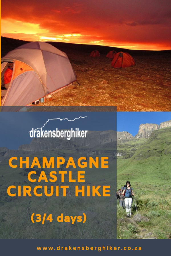 Champagne Castle Circuit Hike (3/4 Days)