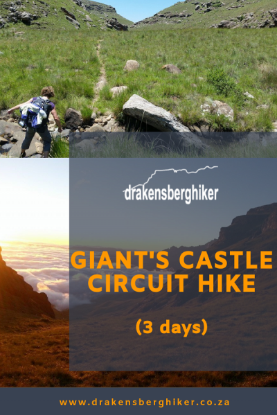 Giant's Castle Circuit Hike, 3 Days