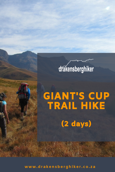 Giant's Cup Trail Hike (2 Days)