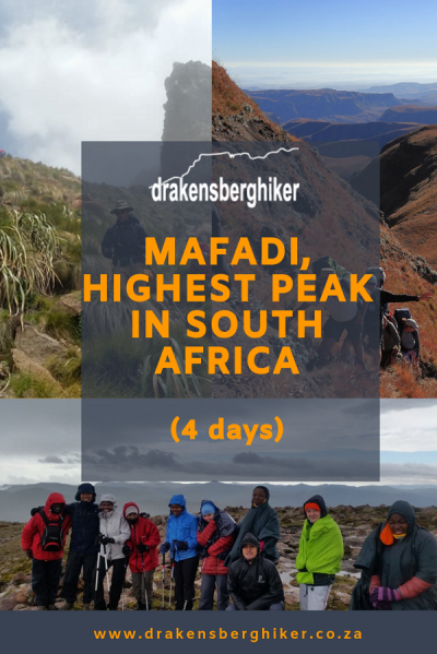 Mafadi, Highest Peak in South Africa, 4 Days