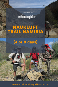 Naukluft Hiking Trail Namibia