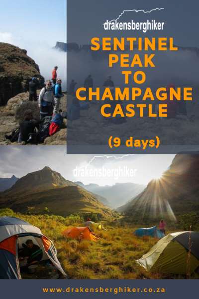 Sentinel Peak to Champagne Castle