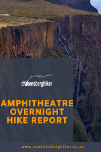 amphitheatre overnight hike report