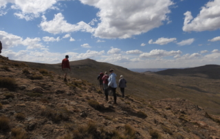 Thabana Ntlenyana the highest peak in the Drakensberg