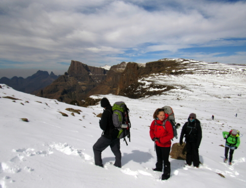How to prepare for a hike in the Drakensberg.